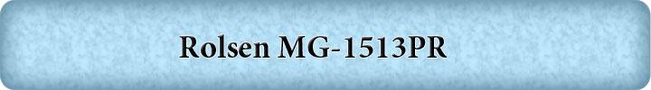 Rolsen MG-1513PR