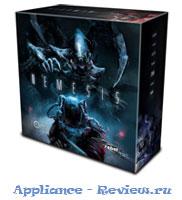Коробка настольной игра Немезис